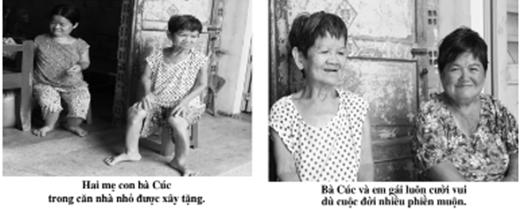 Góc khuất của 4 người phụ nữ tí hon tật nguyền dìu nhau - Ảnh 1