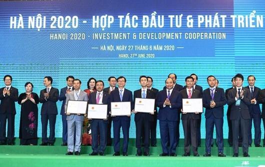 Hà Nội kêu gọi được 400 nghìn tỷ đồng vốn đầu tư cho 229 dự án - Ảnh 1
