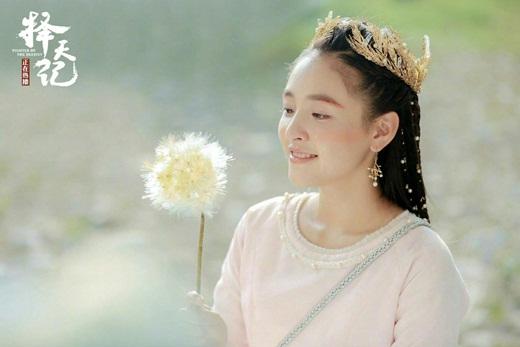 """Top mỹ nhân cổ trang Hoa ngữ: Ngô Thiến - Tiểu tinh linh """"hồn nhiên thiên thành"""", diễn với ai cũng tình như mật ngọt - Ảnh 4"""