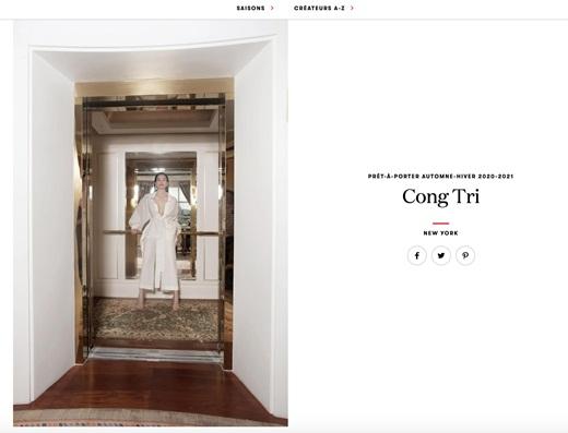 """Hai """"chị đại"""" Hồ Ngọc Hà - Thanh Hằng cùng nhau xuất hiện đẳng cấp trên tạp chí Vogue Pháp - Ảnh 1"""