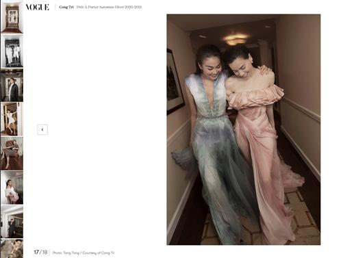"""Hai """"chị đại"""" Hồ Ngọc Hà - Thanh Hằng cùng nhau xuất hiện đẳng cấp trên tạp chí Vogue Pháp - Ảnh 3"""
