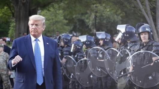 Tổng thống Trump rút lực lượng Vệ binh quốc gia khỏi thủ đô Washington - Ảnh 1