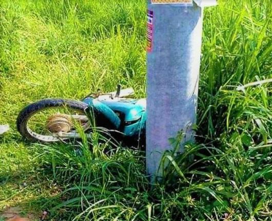 Đồng Nai: Nam thanh niên tử vong thương tâm vì tông vào cột điện - Ảnh 1