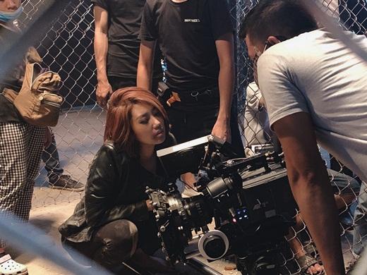 """Thúy Ngân quên đi hình ảnh """"bánh bèo vô dụng"""", nỗ lực thành đả nữ mới của màn ảnh Việt - Ảnh 3"""