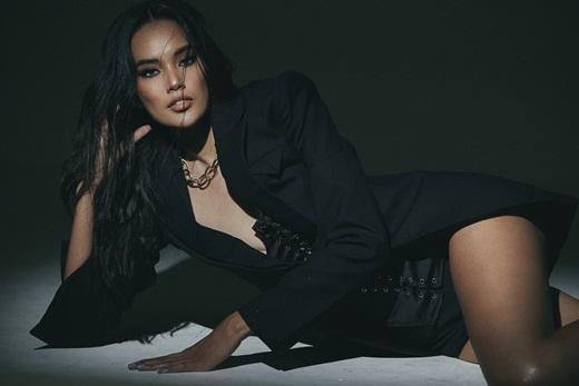 Top 10 Hoa hậu Hoàn vũ Việt Nam Lê Hoàng Phương khoe chân dài miên man, body cực chuẩn - Ảnh 6