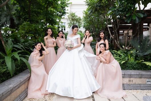 Hình ảnh ngọt ngào quá đỗi trong đám cưới của á hậu Thúy Vân và chồng điển trai Nhật Vũ - Ảnh 6