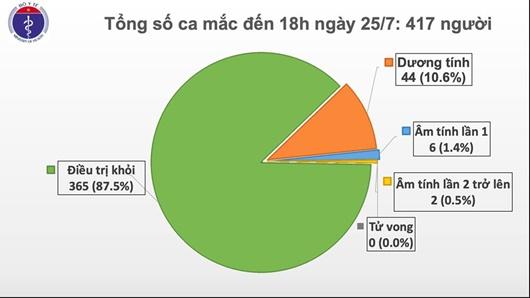 Thêm 2 ca bệnh COVID-19, Việt Nam có 417 ca bệnh - Ảnh 1