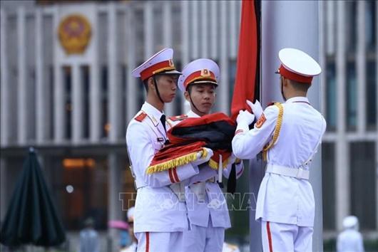 Lễ thượng cờ rủ Quốc tang nguyên Tổng Bí thư Lê Khả Phiêu - Ảnh 6