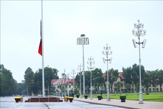 Lễ thượng cờ rủ Quốc tang nguyên Tổng Bí thư Lê Khả Phiêu - Ảnh 8