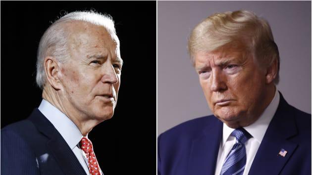 Ông Trump thu hẹp khoảng cách với đối thủ Joe Biden trước thời điểm bầu cử - Ảnh 1