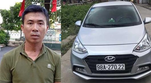 Bắc Giang: Bắt tài xế cố tình lao xe vào CSGT khiến 1 chiến sĩ bị thương - Ảnh 1