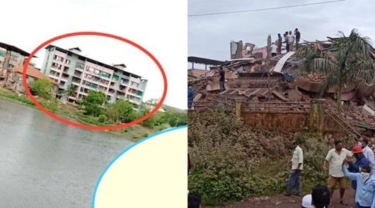 Ấn Độ: Sập chung cư khiến nhiều người bị thương, nghi gần 100 nạn nhân mắc kẹt - Ảnh 1