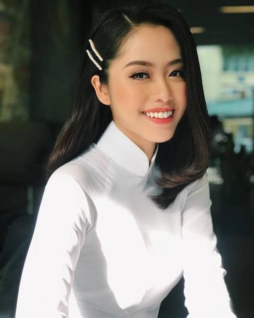 """Nữ BTV truyền hình thi Hoa hậu Việt Nam 2020: Nhan sắc rạng rỡ, múa dẻo, diễn thuyết """"thần sầu"""" - Ảnh 6"""