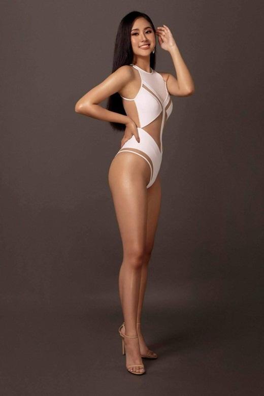 """Dàn thí sinh Hoa hậu Việt Nam 2020 diện bikini: Tạo dáng có lúc còn """"ngây ngô"""" nhưng đường cong thì siêu hút mắt - Ảnh 3"""
