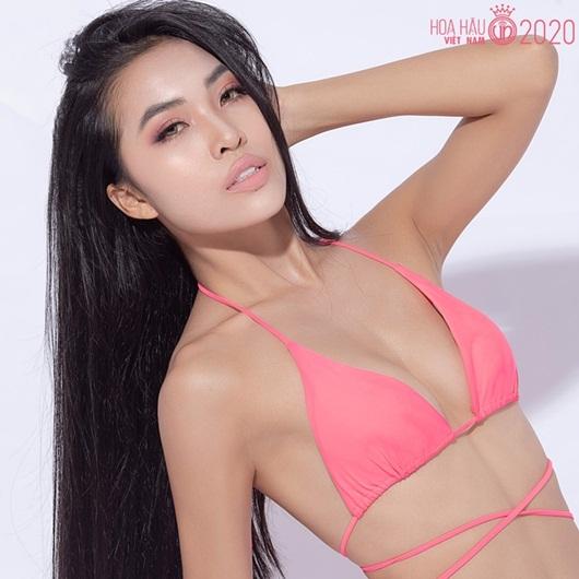Nhan sắc ngọt ngào của người đẹp Khánh Hòa có vòng eo 56 thi Hoa hậu Việt Nam 2020 - Ảnh 1