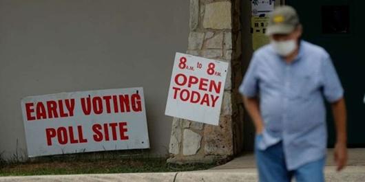 Bầu cử Tổng thống Mỹ 2020: Cử tri tại 4 bang bắt đầu bỏ phiếu sớm - Ảnh 1