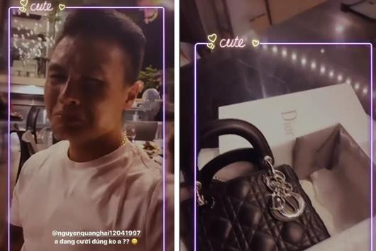 Tin tức giải trí mới nhất ngày 7/9/2020: Quang Hải tặng Huỳnh Anh túi hàng hiệu gần trăm triệu - Ảnh 1