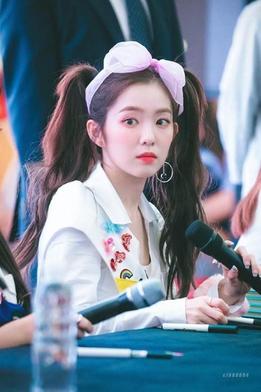 Kiểu tóc tưởng chỉ dành cho bé gái được sao nữ Hoa - Hàn đua nhau diện, xinh xắn không phân thắng bại - Ảnh 4