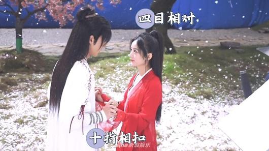 """Hậu trường cảnh hôn """"ngọt hơn phim"""" của Triệu Lệ Dĩnh và Vương Nhất Bác, fan """"ghen tỵ"""" nhưng vẫn tua đi tua lại - Ảnh 3"""