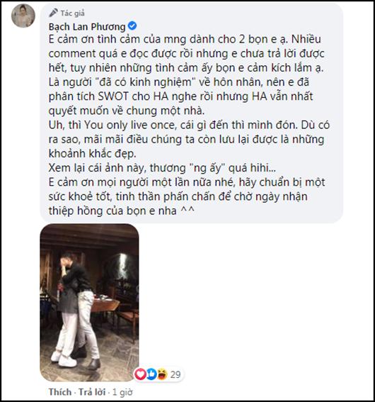 """Bạch Lan Phương phân tích về hôn nhân nhưng Huỳnh Anh vẫn """"nhất quyết muốn về chung một nhà"""" - Ảnh 2"""