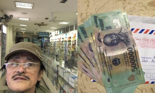 Nghệ sĩ Giang Còi đi mua thuốc đầu năm, được lì xì gấp 5 số tiền thuốc - Ảnh 1