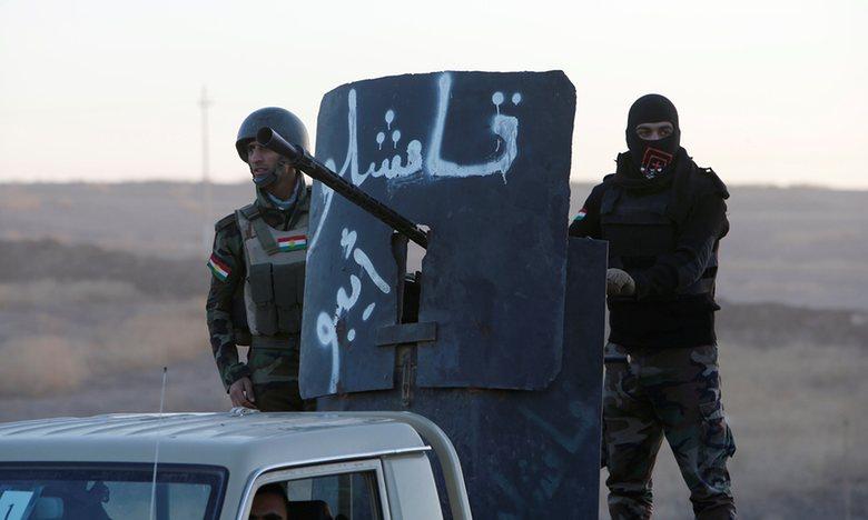 Pháo kích dồn dập mở đường tấn công Mosul - Ảnh 2