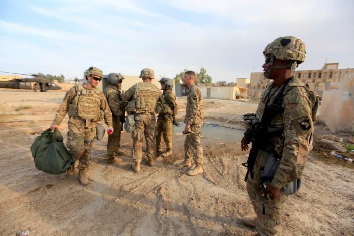 IS dùng hàng chục nghìn người làm lá chắn sống ở Mosul - Ảnh 1