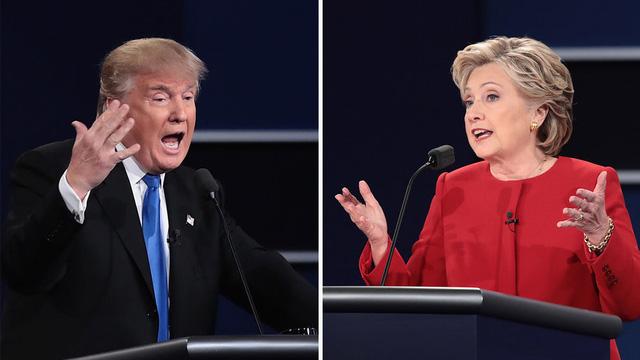 Bà Clinton giành ưu thế sau cuộc tranh luận đầu tiên - Ảnh 1