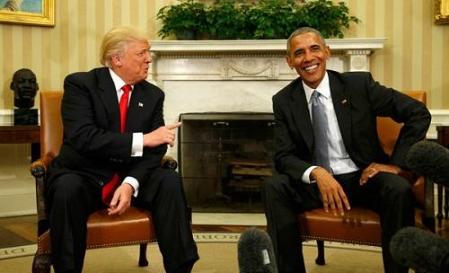Bà Melania Trump gặp Đệ nhất phu nhân Michelle Obama tại Nhà Trắng - Ảnh 2