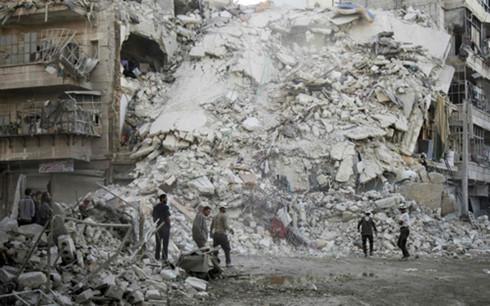 Nga cáo buộc phiến quân ở Aleppo, Syria sử dụng vũ khí hóa học - Ảnh 1