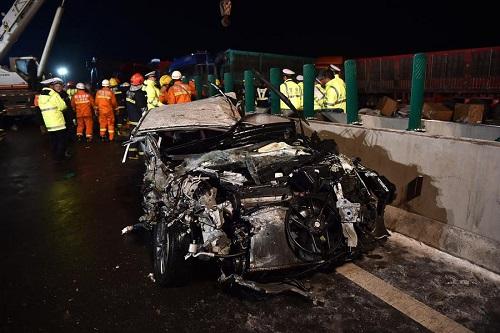 Trung Quốc: Tai nạn kinh hoàng trên cao tốc, ít nhất 54 người thương vong - Ảnh 1