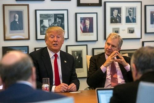 Tổng thống đắc cử Trump gọi New York Times là báu vật quốc gia - Ảnh 1