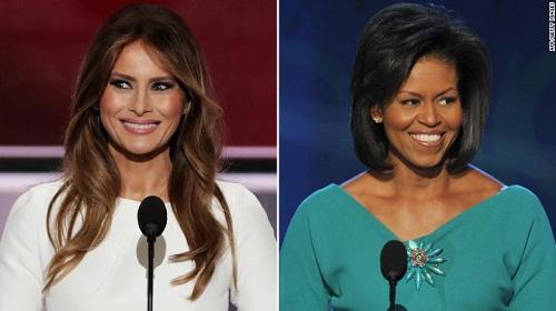 Vợ mới của Donald Trump đạo văn…vợ cũ - Ảnh 2