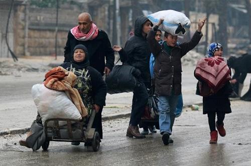 Syria: Lực lượng ủng hộ Assad ngăn chặn sơ tán người dân khỏi Aleppo - Ảnh 1