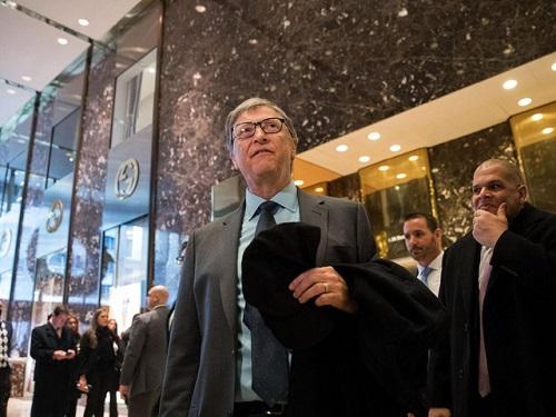 Tỷ phú Bill Gates ca ngợi Tổng thống đắc cử Donald Trump - Ảnh 1