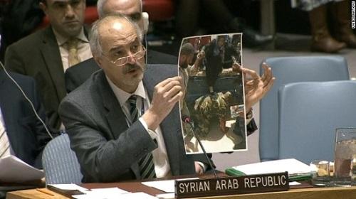 Truyền thông Mỹ cáo buộc Syria gửi 'tin giả' tới Liên hợp quốc - Ảnh 1