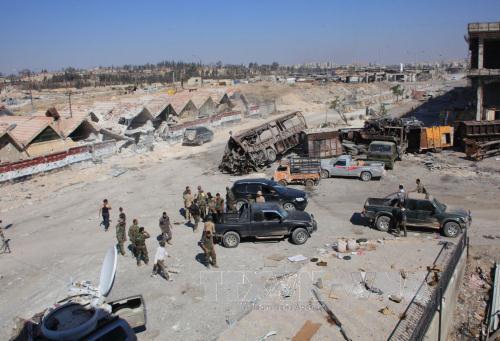 Không kích dữ dội tại Aleppo, 30 thường dân thiệt mạng - Ảnh 1