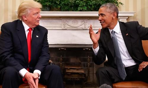 Tổng thống Barack Obama sẽ cùng Donald Trump đến lễ nhậm chức - Ảnh 1