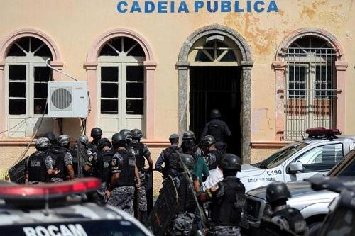 Lại thanh trừng đẫm máu, 33 tù nhân Brazil bị giết hại - Ảnh 1