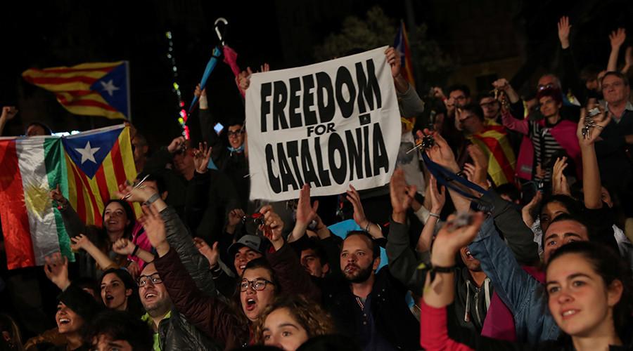 90% cử tri Catalan đồng ý tách khỏi Tây Ban Nha - Ảnh 1
