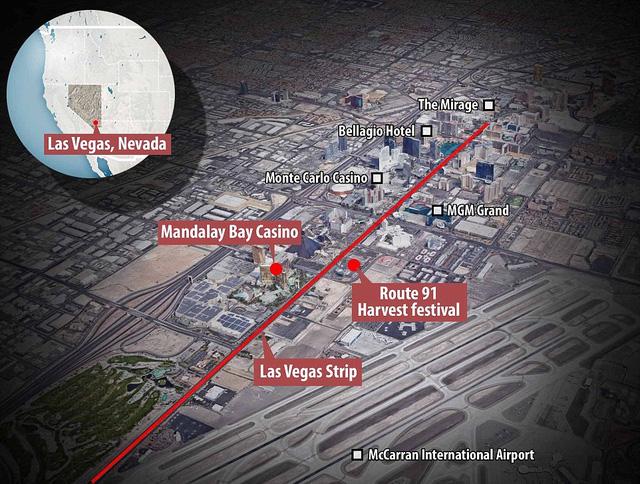 'Trút đạn như mưa' vào khu sòng bài Las Vegas, ít nhất 250 người thương vong - Ảnh 6