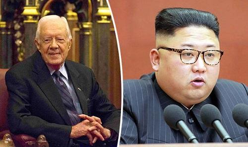 Cựu Tổng thống Mỹ Jimmy Carter muốn đến Triều Tiên đàm phán - Ảnh 1
