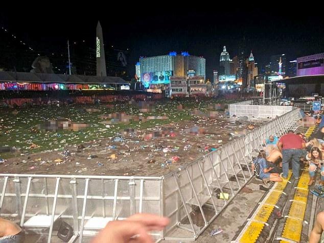 Bức hình 'ám ảnh kinh hoàng' trong vụ xả súng đẫm máu ở Las Vegas - Ảnh 1