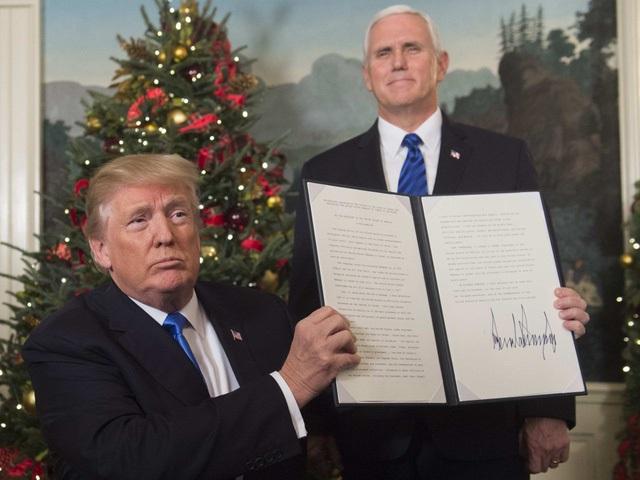 Ai đứng sau quyết định công nhận Jerusalem là thủ đô Israel của Tổng thống Trump? - Ảnh 1