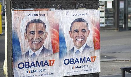 30.000 người kêu gọi Barack Obama làm tổng thống Pháp - Ảnh 1