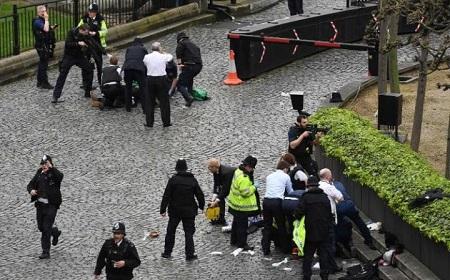 Khủng bố ngoài tòa nhà QH Anh, ít nhất 5 người chết - Ảnh 2
