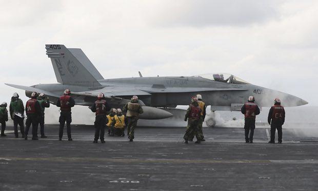 Triều Tiên tuyên bố sẵn sàng chiến tranh sau khi Mỹ điều động tàu sân bay - Ảnh 1