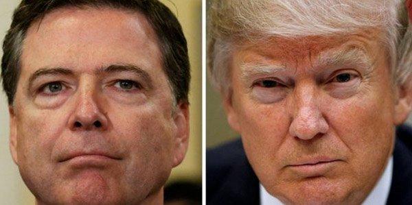 Tổng thống Trump bất ngờ lên tiếng việc sa thải giám đốc FBI - Ảnh 1