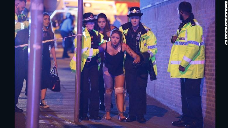 Anh xác định nghi phạm đánh bom chết tại nhà thi đấu Manchester - Ảnh 1