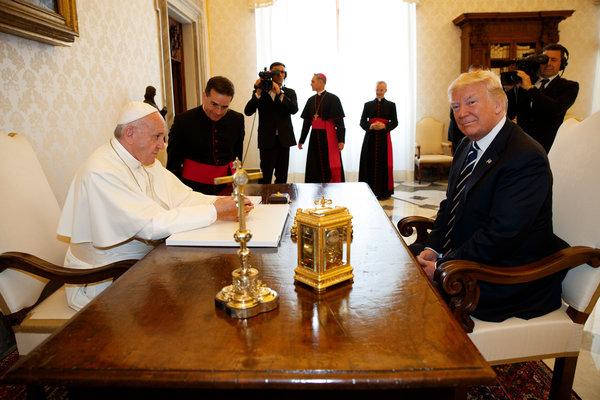 Tổng thống Donald Trump gặp Giáo hoàng Francis tại Vatican - Ảnh 1
